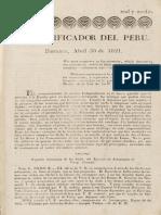 El Pacificador Del Perú 1821-04-30 (No.003)