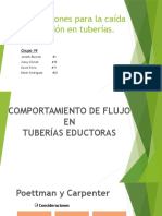 Correlaciones Para Calculos de Perdidas de Presion en Tuberias