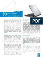 Inspiron 15 5000 Spec Sheet