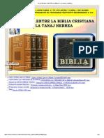 LA DIFERENCIA ENTRE LA BIBLIA Y LA TANAJ HEBREA.pdf