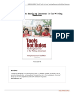 1609110951 Tools Not Rules Teaching Grammar in the Writing