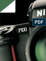 Brochure Nikon F100