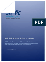 ahe 588 human subjects review kf