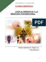 La Medicina Alternativa. Cultura Científica.