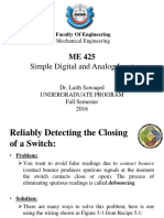 Simple Digital and Analog Input