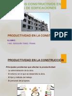Productividad en La Construccion