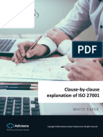 Clause by Clause Explanation of ISO 27001 En