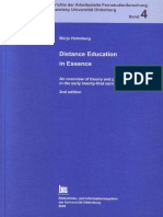 Distance Education in Esesence