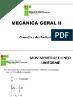 27591-MGII - Aula 2 - Princípios de Dinâmica
