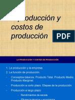 La Produccion y Costos de Produccion