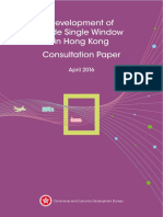 Single window Consultation Paper