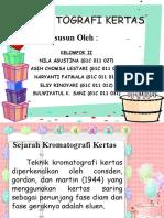 Kromatografi Kertas Presentation