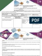 Guía de Actividades y Rubrica de Evaluación – Fase 4 Aplicar Los Conocimientos Sobre Técnicas de Integración