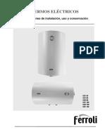 CLASSICAL SEVSEH 50 150 Manual de Instrucciones
