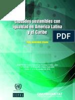ciudades sostenibles con igualdad para america latina