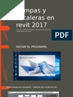 Rampas y Escaleras en Revit 2017