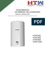 Manual Instrucciones Thermal Lcd