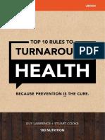 180 Nutrition Turnaround Health eBook
