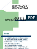 1 Leccion n 06 (07-08) (1) Tipos de Cimentacion