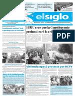 Edición Impresa El Siglo 28-05-2017