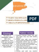 Hepatitis b Kronik