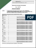 Reminder Indicator Reset Procedures Acura - 1987-14