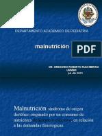 MALNUTRICION (Marasmo- Kwashiorkor) UNMSM Julio-diciembre 2013