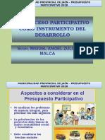Presupuesto Participativo Jaén - 01