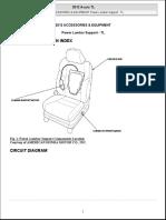 2012 Accessories & Equipment Power Lumbar Support - Tl