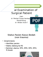 Surgery Physical Examination