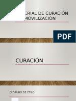 MATERIAL CURACIÓN E INMOVILIZACIÓN