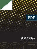 Tarifas Preventa_El Universal 2017