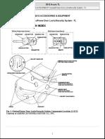 2012 ACCESSORIES & EQUIPMENT KeylessPower Door LocksSecurity System - TL