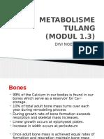 Biokim- Metabolisme Tulang- Kuliah Modul 1.3