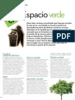 Como convertir tu espacio en verde
