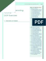 6OOP Exercises - Java Programming Tutorial