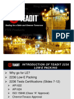 Teadit 2236 Low-E Packing