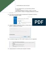 Configuracion de Outlook