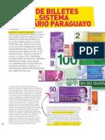 Diseño de billetes para el sistema monetario paraguayo