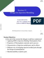 13 Design for Injection Moulding