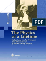 Physics of a Lifetime - Reflections on the Problems and Personalities of 20th Century Physics