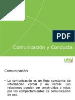 Comunicación y Conducta