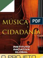 Book de Captação Projeto Música e Cidadania