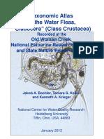 Atlas Taxonomi Cladocera