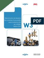 gfps_Rohrweitenbestimmung_Trinkwasser_nach_SVGW_Richtlinie_W3_-_Brochure_Détermination_du_diamètre_des_conduites_selon_W3_-_Französisch.pdf