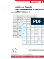 GPG167 Organisational Aspects of Energy Management a Self Assess Manual for Managers