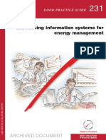 GPG231 Introducing Information Systems for Energy Management