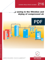 GPG216 Energy Saving in the Filtration and Drying of Compressed Air