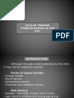 Trauma & Benda Asing Pada Mata