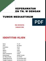 Asuhan Keperawatan Tumor Mediastinum